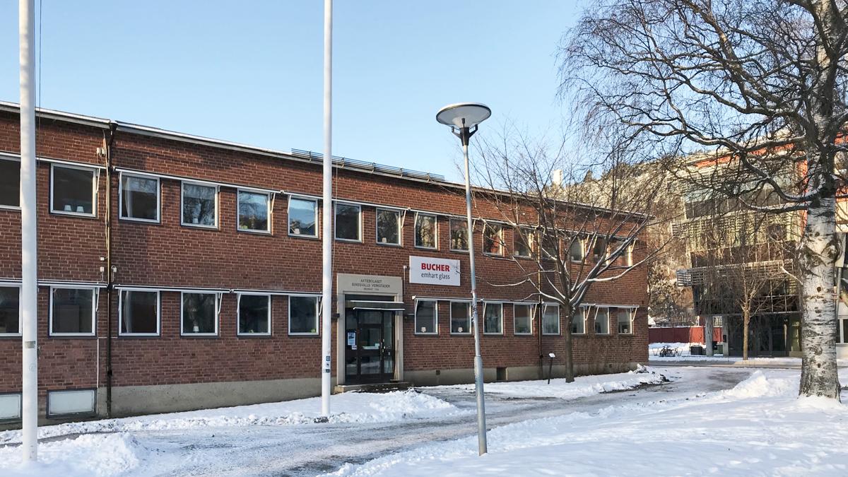 GIF Sundsvalls kansli på Universitetsallén 1
