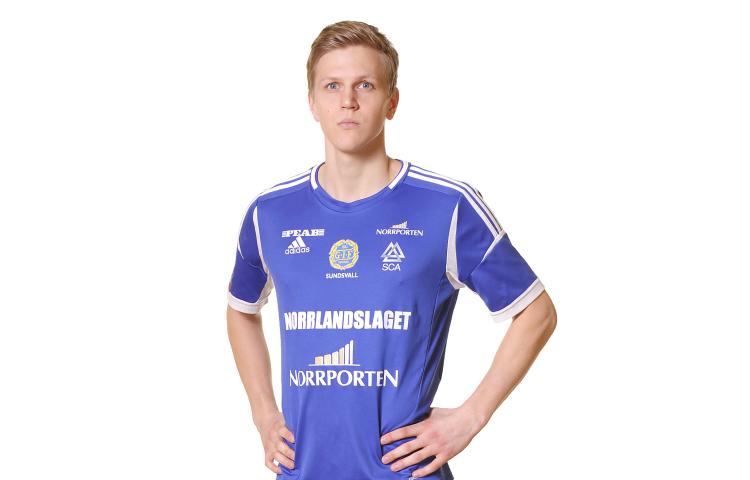 Nilssons första mål när GIF tog  första segern