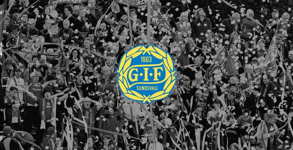 GIF:s klubbmärke på medaljplats