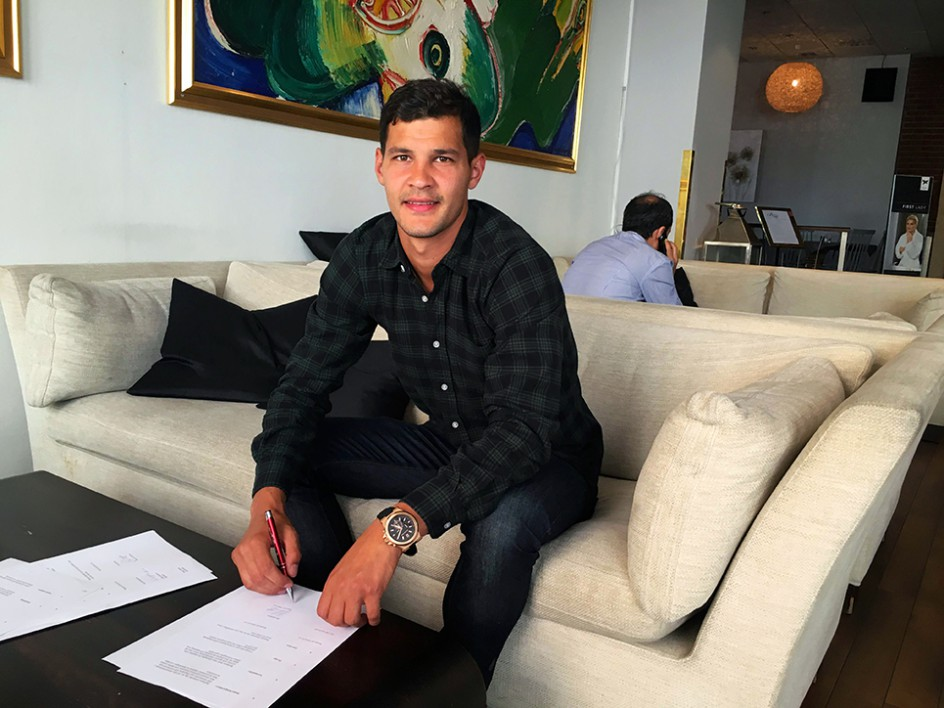 Mauricio Albornoz klar för GIF Sundsvall