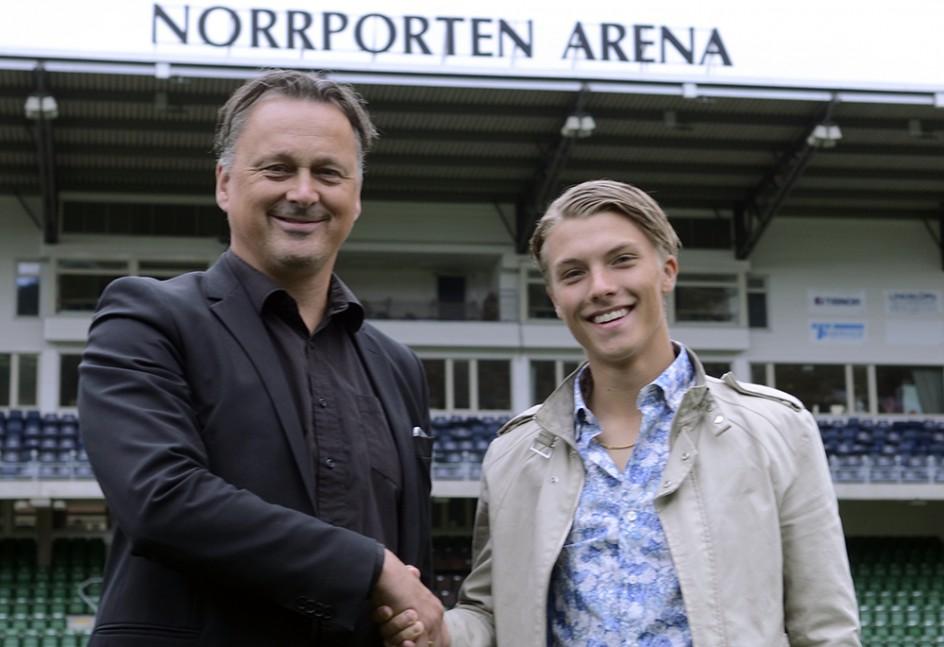 GIF Sundsvall förlänger med Erik Granat