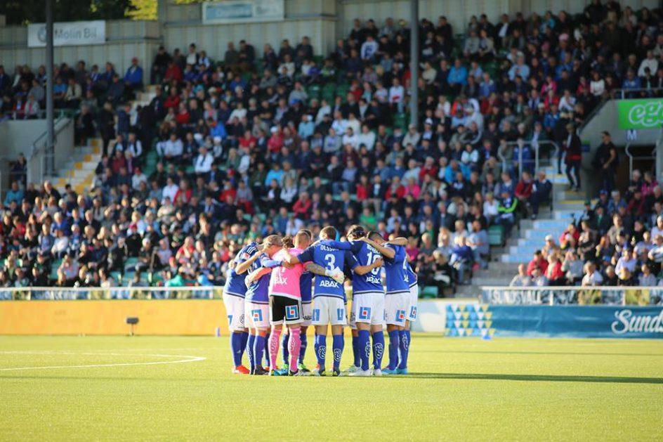 Inför GIF Sundsvall-IFK Norrköping