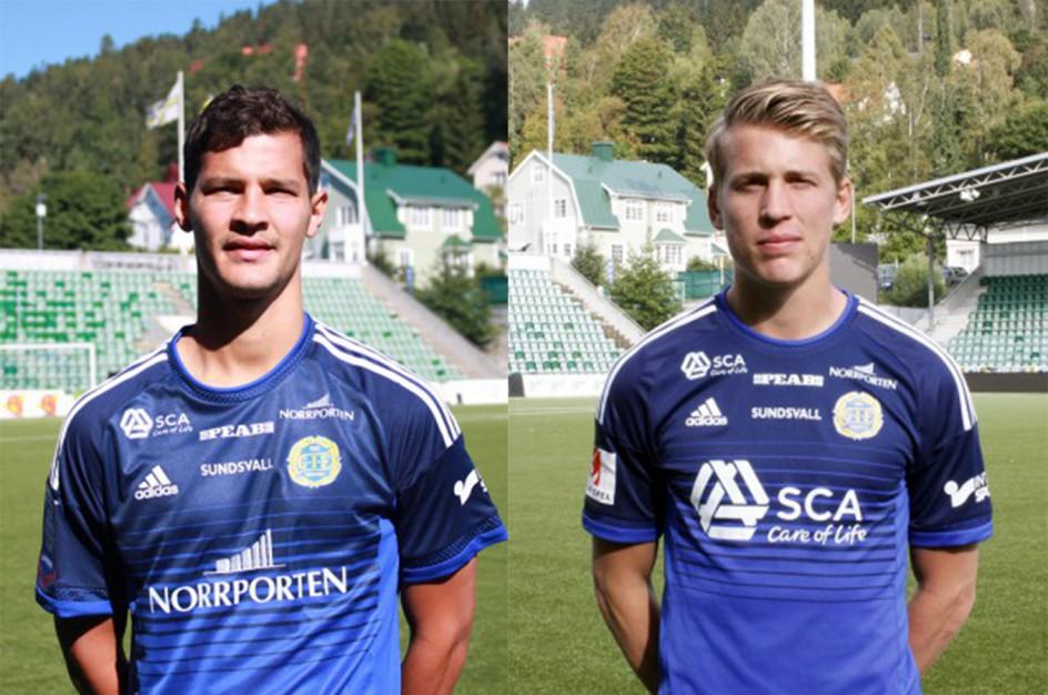 Albornoz och Enarsson lämnar GIF Sundsvall