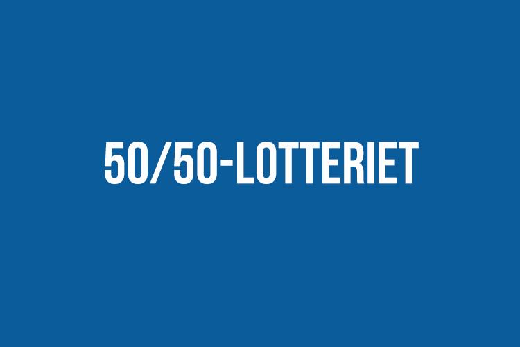 Vinstnumret i 50/50-lotteriet