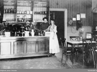 Mathildas café, sedan 1903!