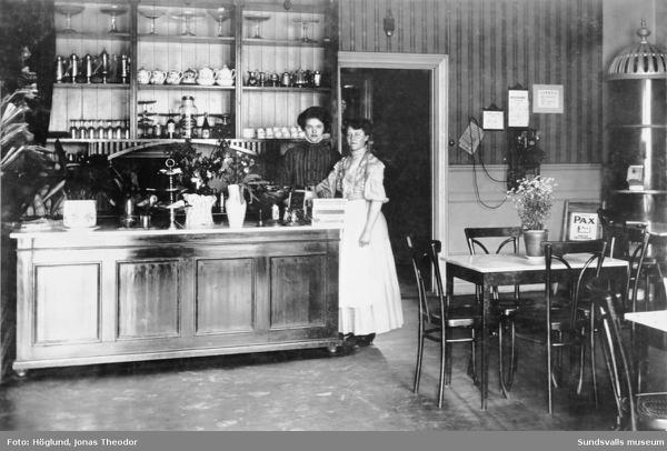 Mathildas café – sedan 1903!