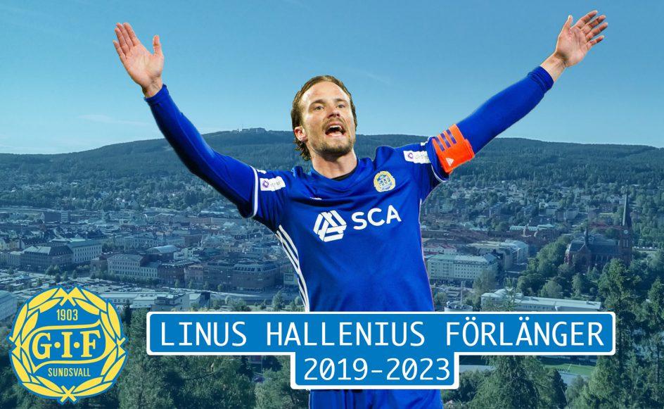 Linus Hallenius blir kvar i Giffarna