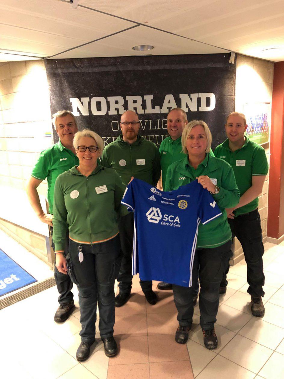 Coop Nord blir ny samarbetspartner till Giffarna