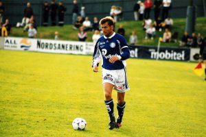 Leif Forsberg på IP 1999