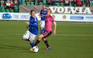 Emil Forsberg mot IFK Göteborg 2012