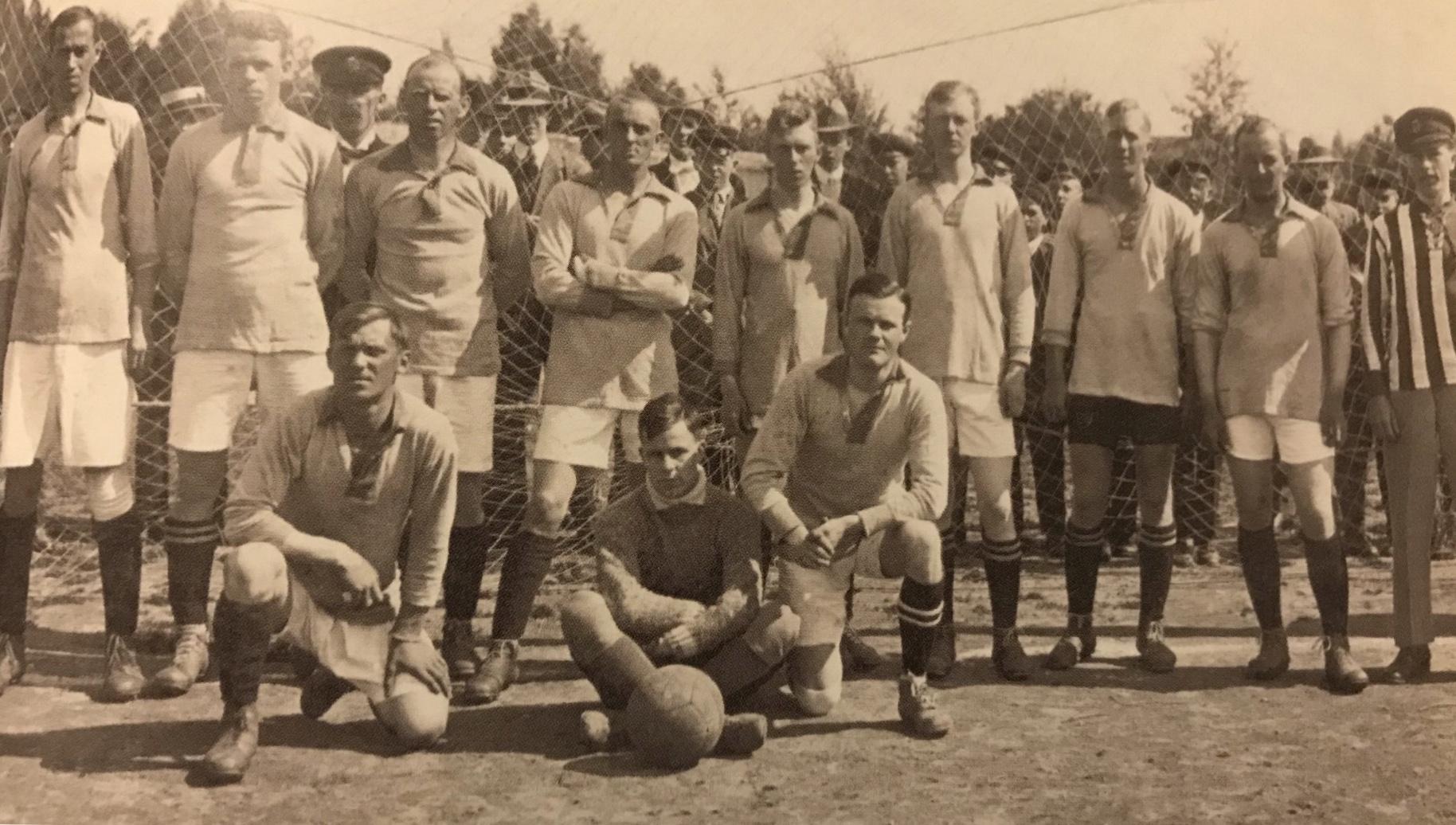 GIF Sundsvall lagbild 1917/18