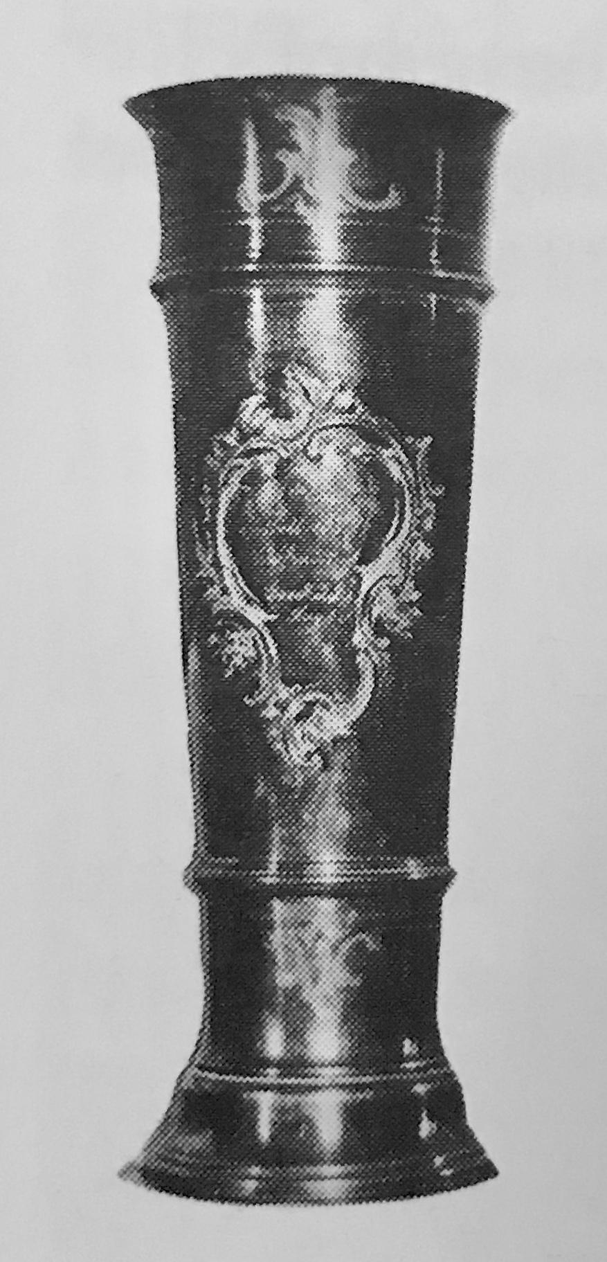 Pokalen för turneringsseger i Härnösand 1906