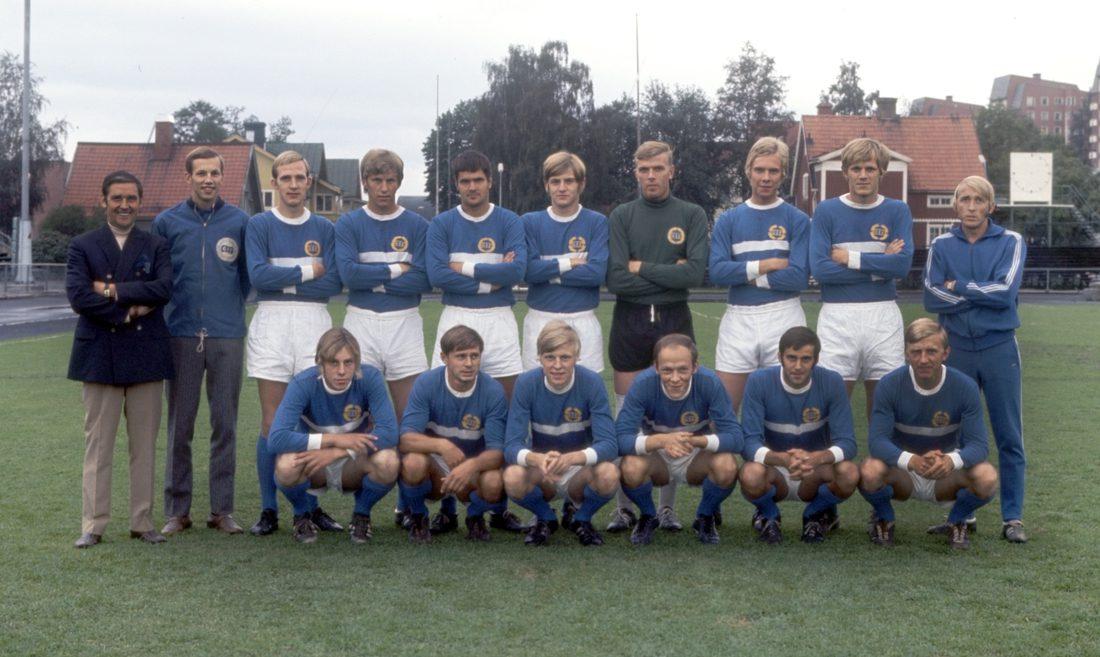 GIF Sundsvall, lagbild 1970