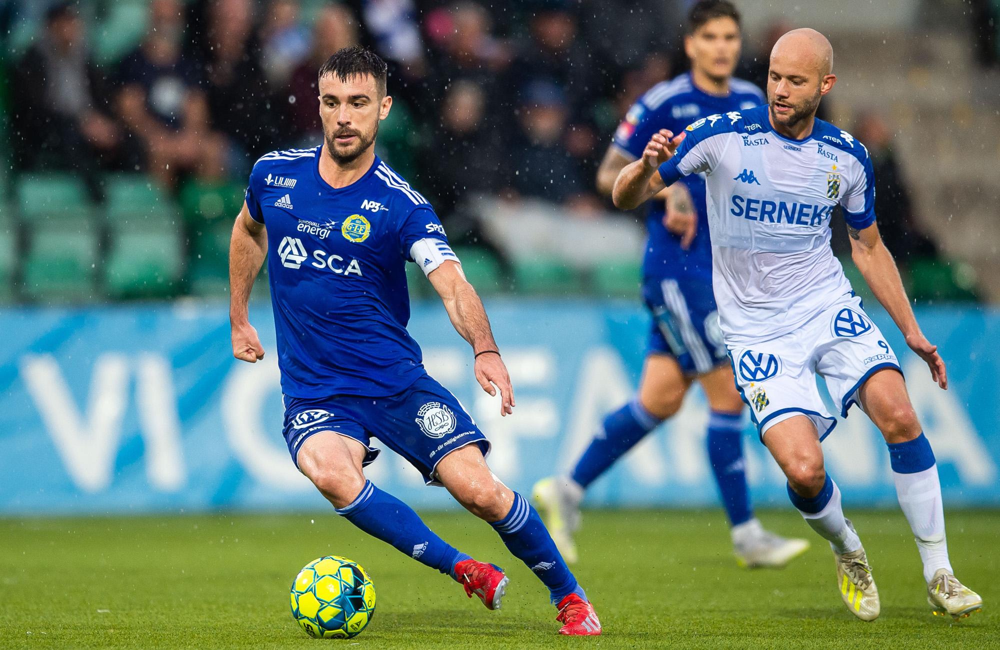 GIF Sundsvalls Calos Gracia mot IFK Göteborg