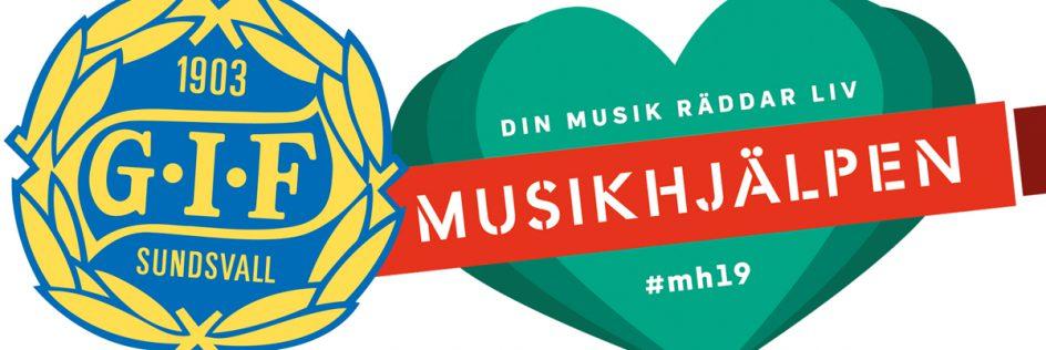 GIF Sundsvall ♥ Musikhjälpen