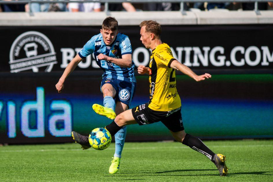 Johan Andersson lånas från Djurgården