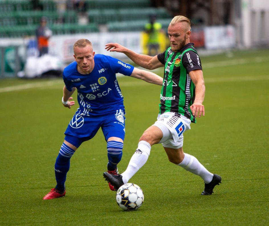 Möt Tobias Eriksson i dagens matchprogram