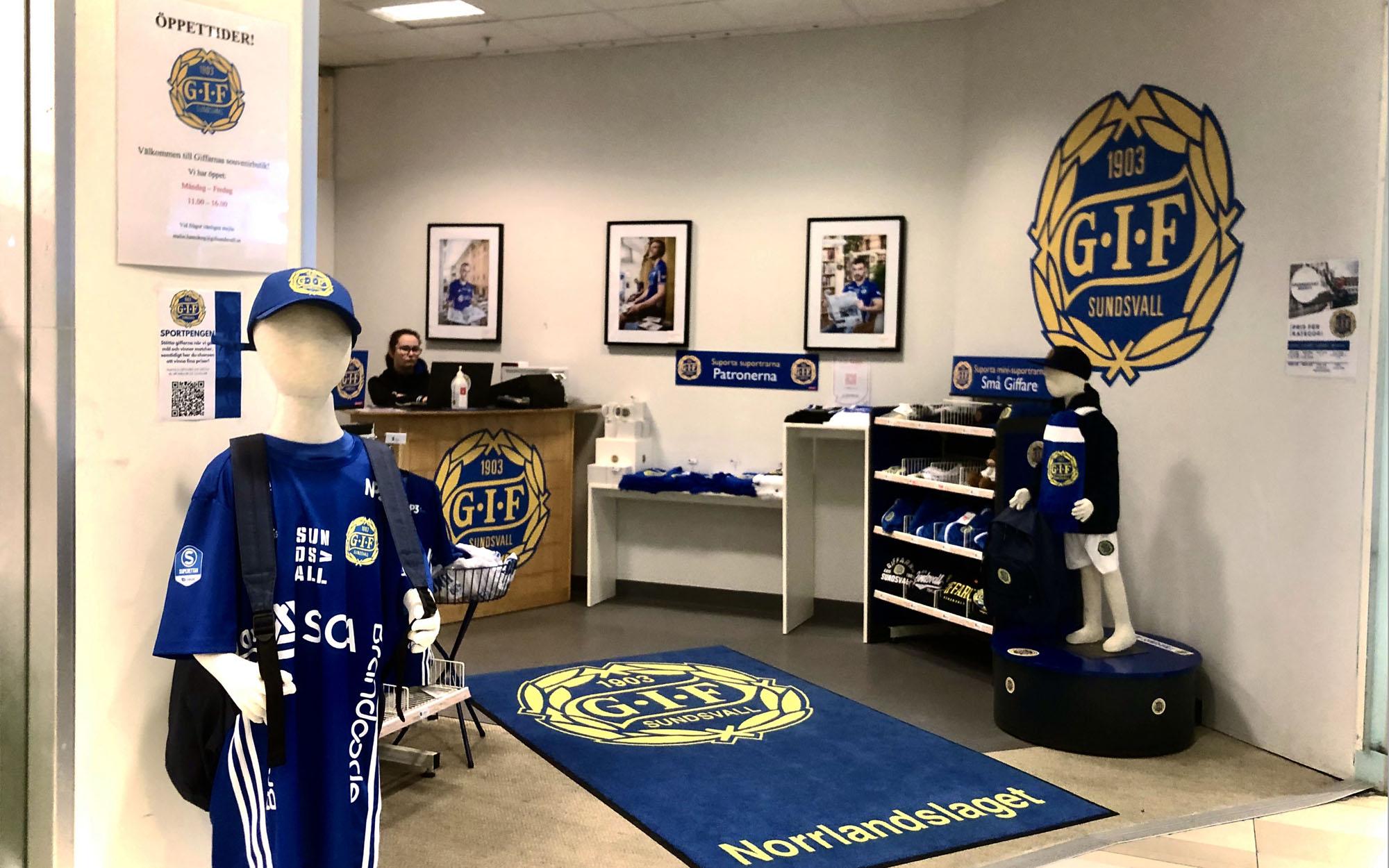 GIF-butiken i In-gallerian