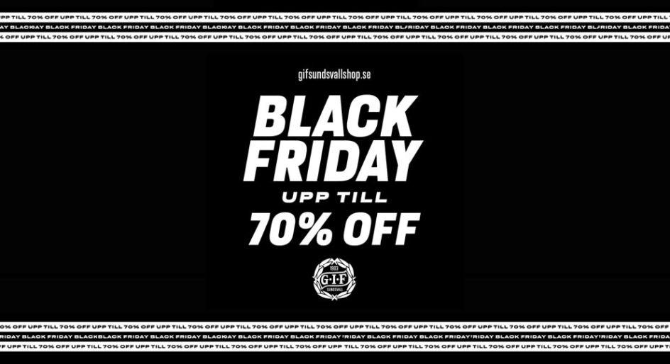 Black friday i GIF-shoppen