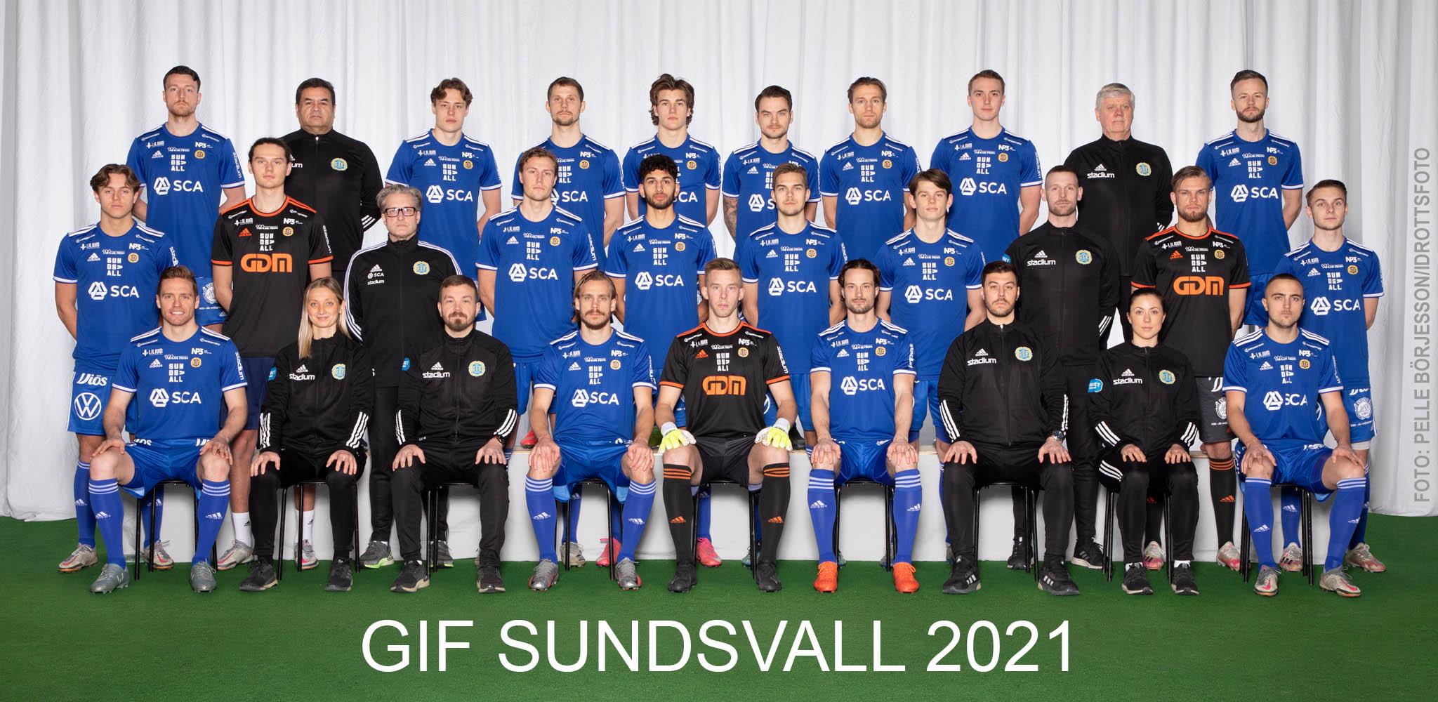 GIF Sundsvall lagbild 2021