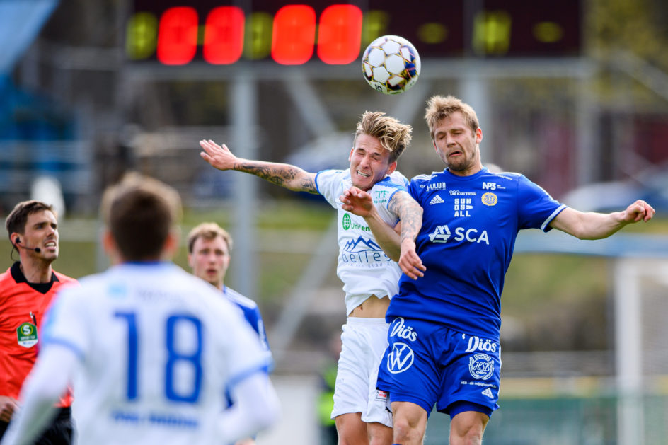 Möt Erik Andersson i matchprogrammet