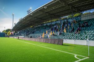 Publik på NP3 Arena under GIF-Jönköpings Södra
