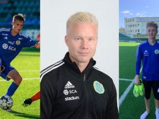 Tre GIF-representanter till landslaget