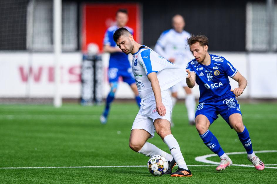 Möt Daniel Stensson i matchprogrammet