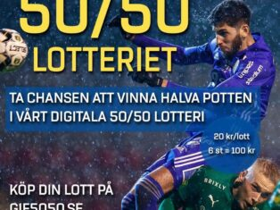 50/50-lotteriet tillbaka – digitalt vid bortamatcher
